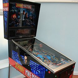 Johnny Mnemonic Pinball Restoration