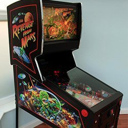 Revenge From Mars Pinball Restoration