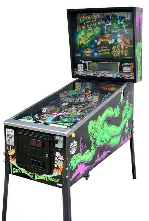 Creature From The Black Lagoon Pinball Machine For Sale