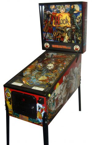 Hook Pinball Machine For Sale