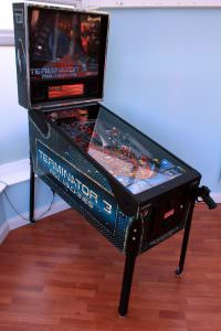 Terminator 3 Pinball Machine for Hire