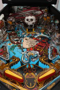 Hook pinball machine for hire