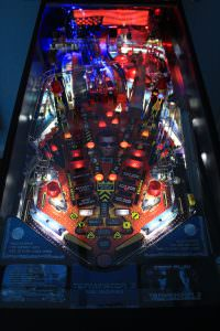 Terminator 3 pinball playfield