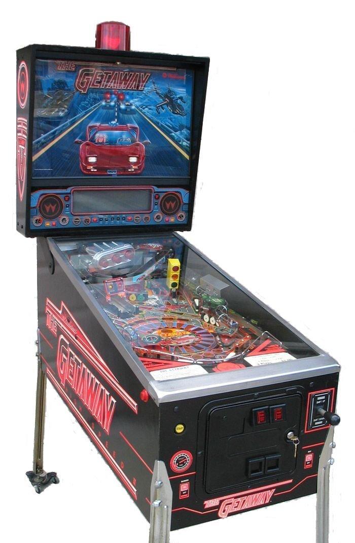 The Getaway High Speed II Pinball Machine For Sale