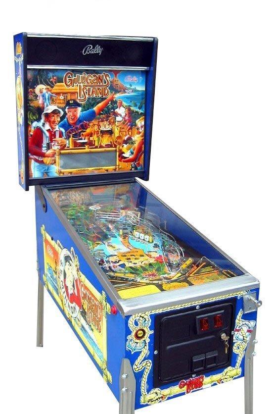 Gilligan's Island Pinball Machine For Sale