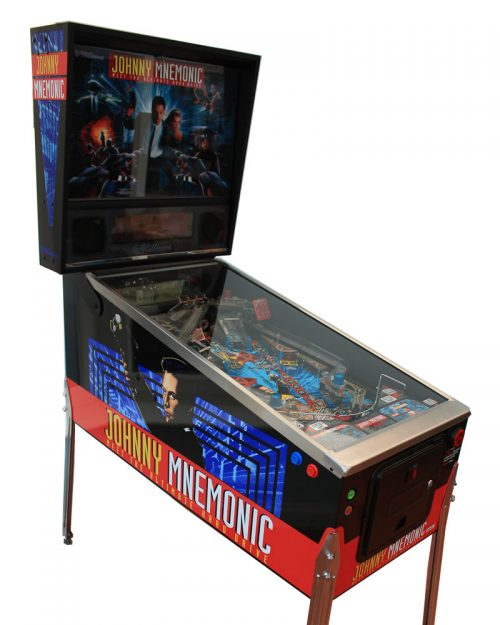 Johnny Mnemonic Pinball Machine For Sale