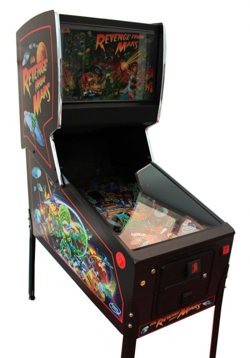 Revenge From Mars Pinball Machine for Sale