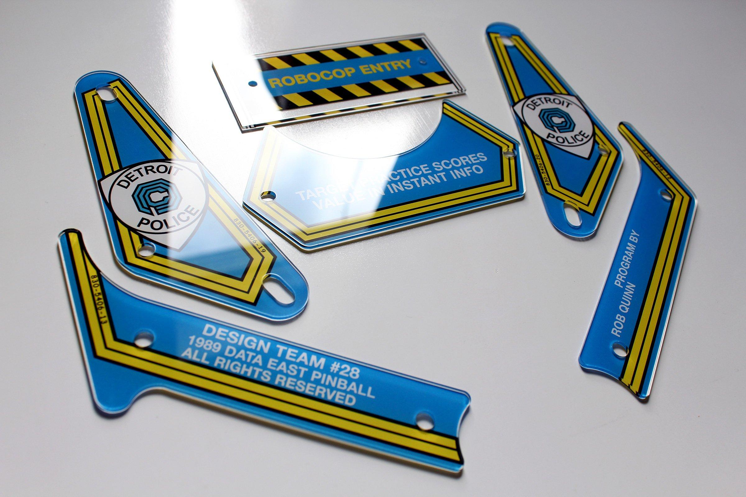 Robocop Flipper Plastics Set
