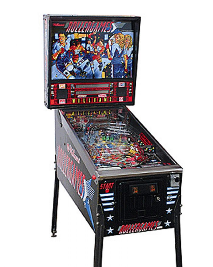 Rollergames Pinball Machine For Sale