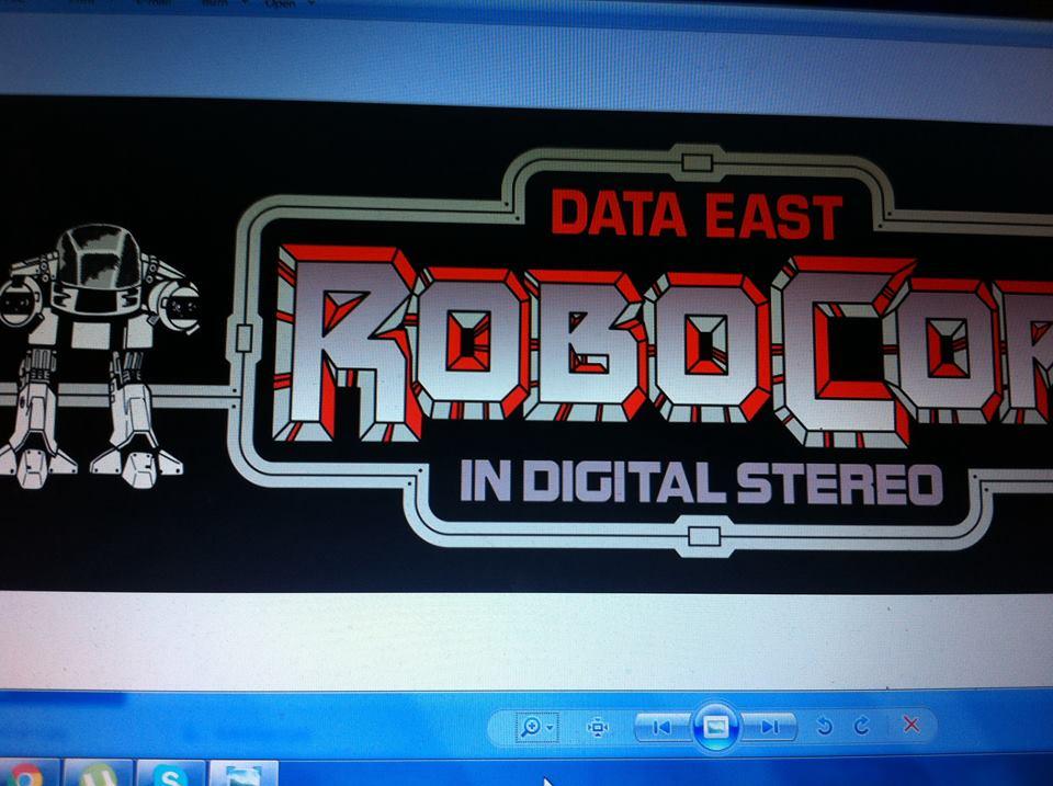 Robocop Pinball Decals