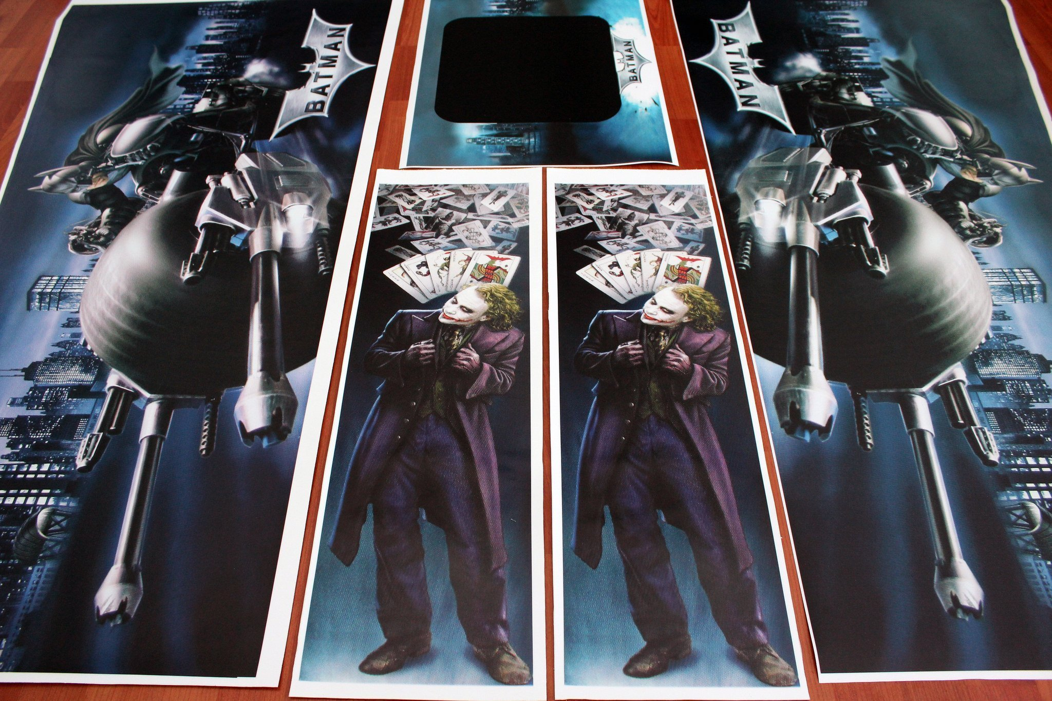 Batman Dark Knight Flipper Pinball Decals