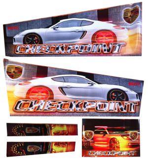Checkpoint HD Alternative Pinball Cabinet Decals