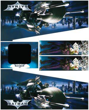 Stern Batman The Dark Knight Pinball Cabinet Decals