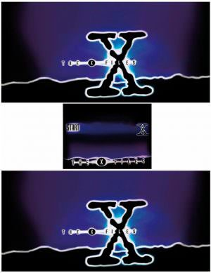 The X Files Pinball Cabinet Decals