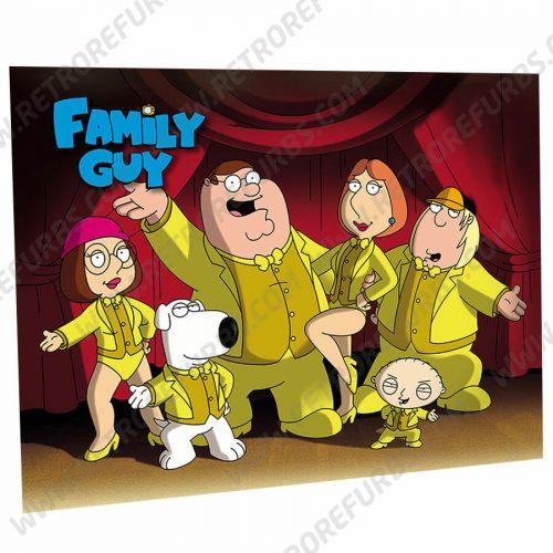 Family Guy Pinball Translite Flipper