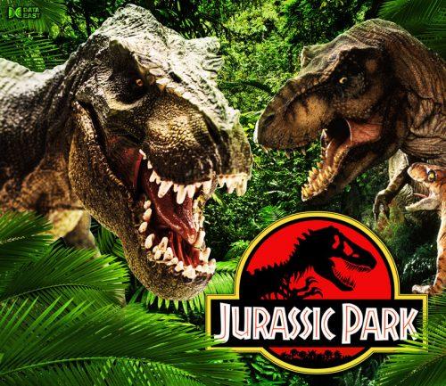 Jurassic Park 2D Alternative Pinball Translite Flipper