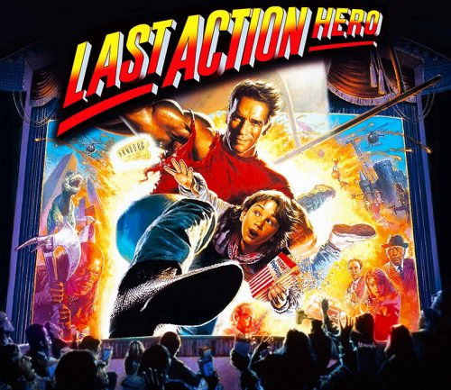 Last Action Hero Alternative Translite