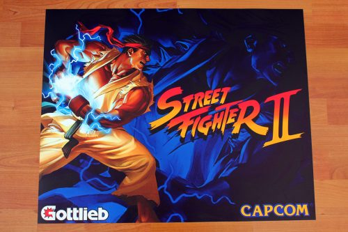 Street Fighter Ryu Alternative Translite Flipper 2