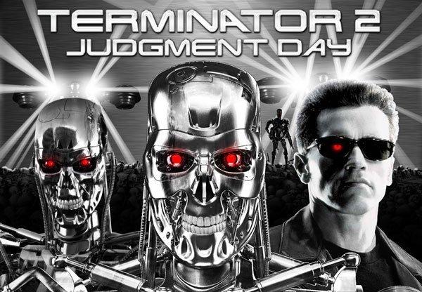 Terminator 2 Chrome Alternative Pinball Translite Flipper