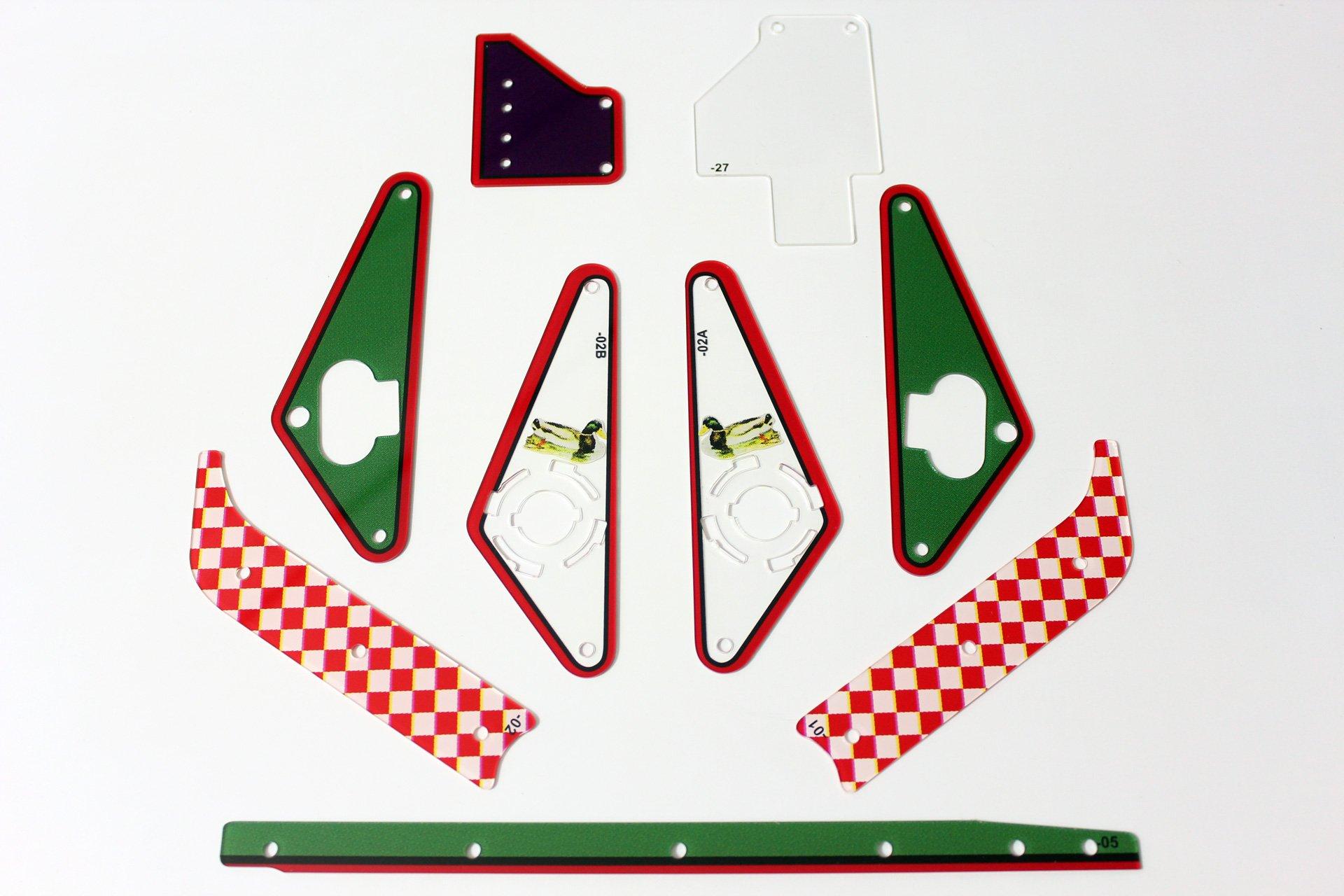 The Sopranos Pinball Plastic Set Flipper 1