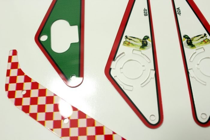The Sopranos Pinball Plastic Set Flipper 2