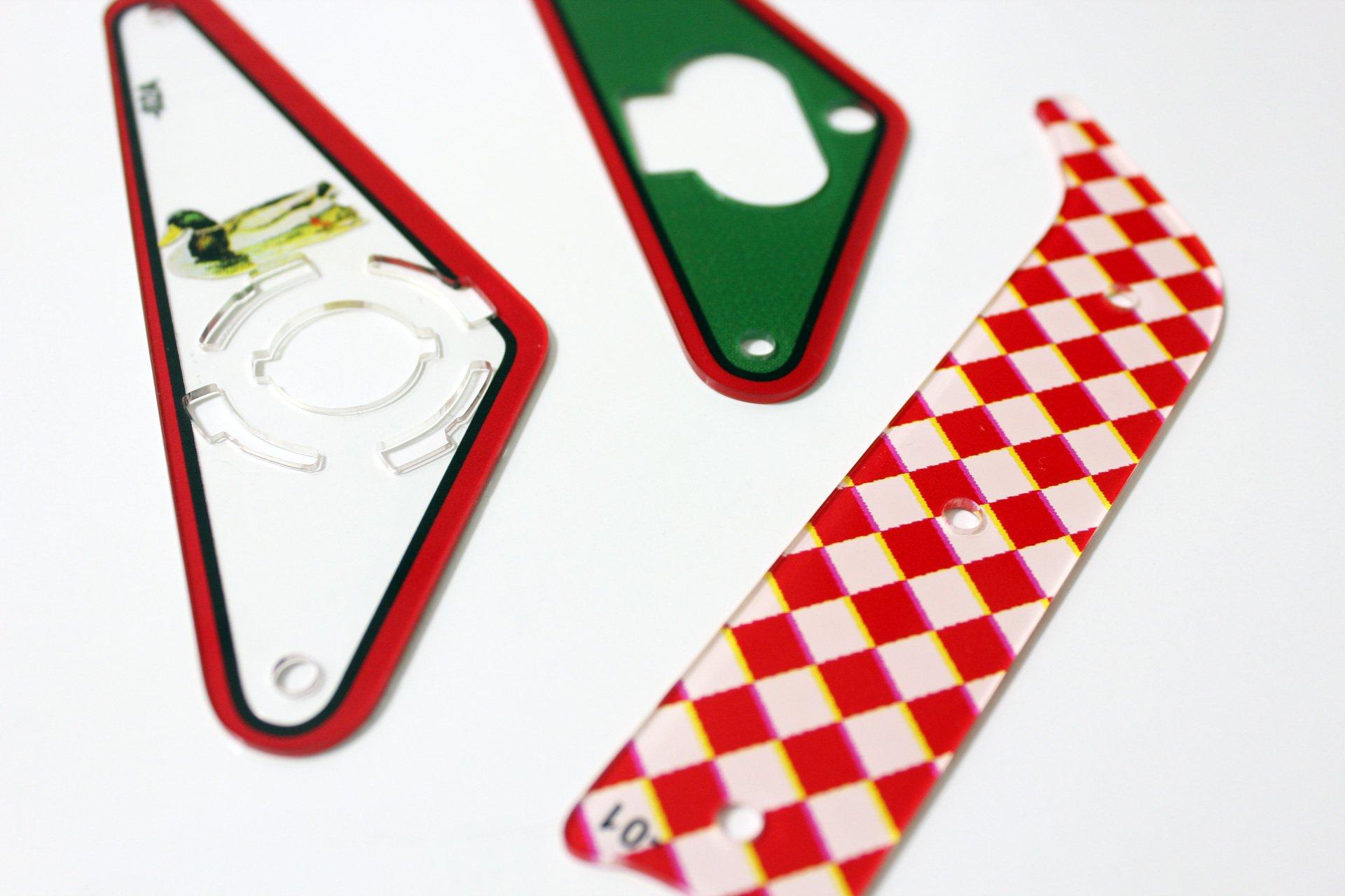 The Sopranos Pinball Plastic Set Flipper 3