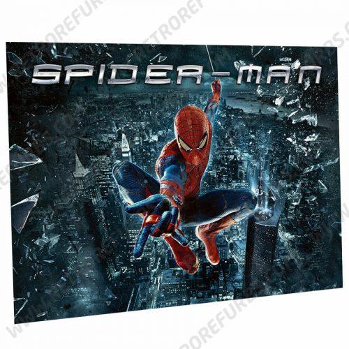 Spider Man City Edition Pinball Translite Alternative Flipper Alternate