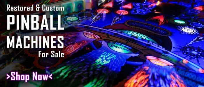 Retro Refurbs Pinball Machines For Sale
