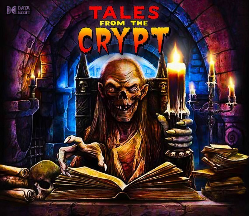 Tales From The Crypt Keeper Alternate Pinball Translite