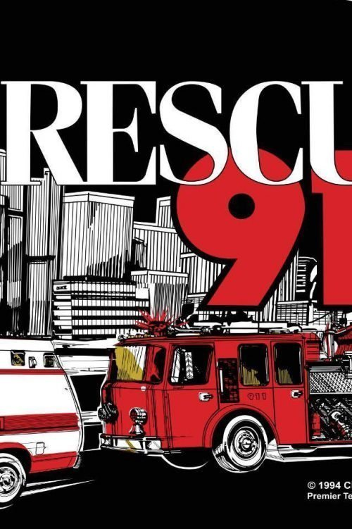 detail of rescue 911 flipper side art cabinet decals 3