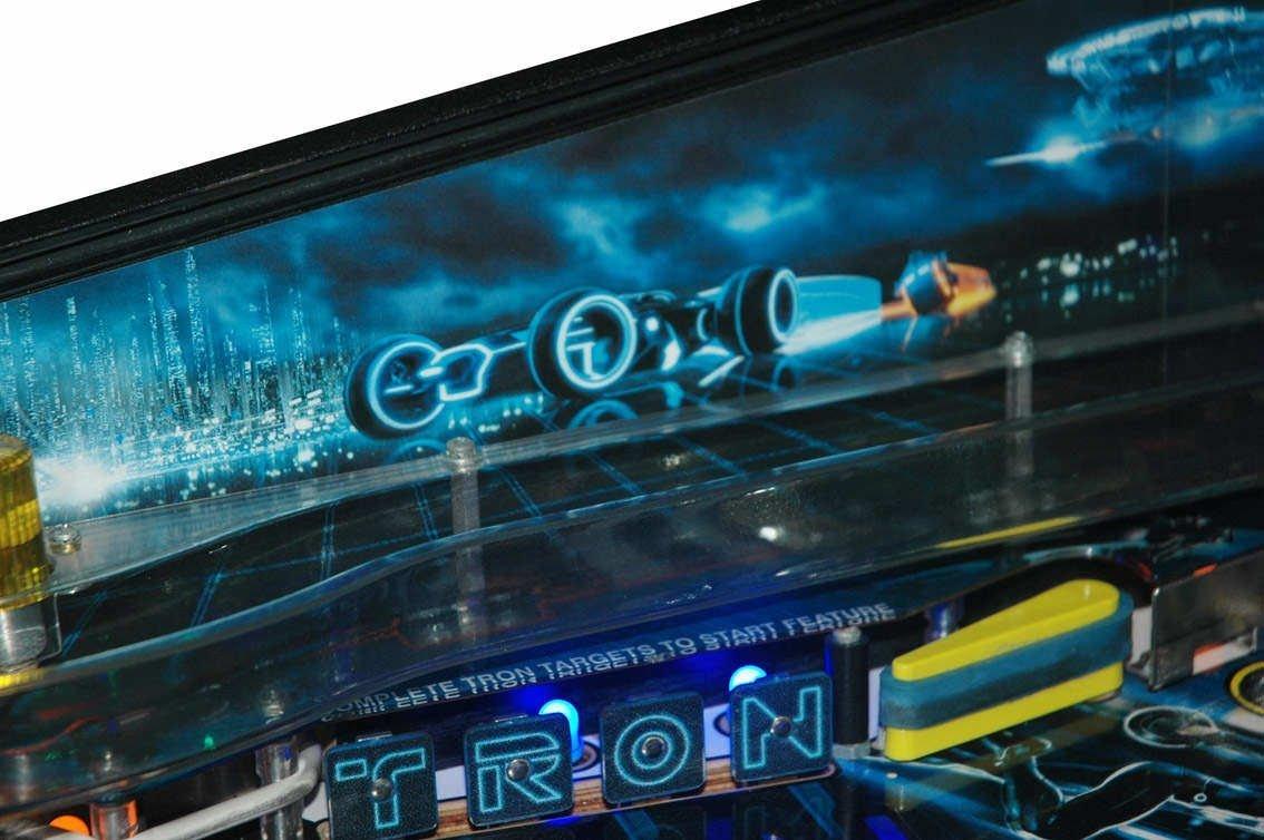 Tron Legacy Pinball Sideblades Retro Refurbs
