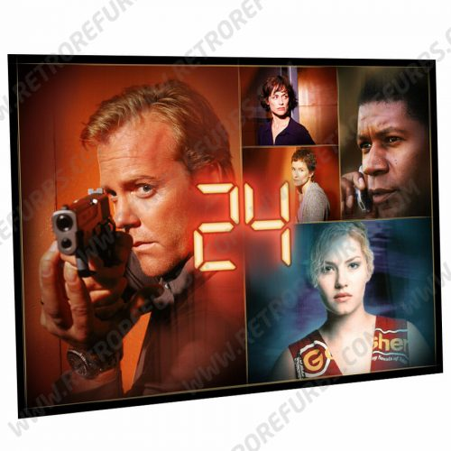 24 Season 1 Alternate Pinball Translite Flipper Backglass Stern Alternative