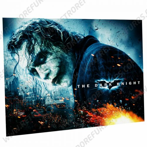 Batman The Dark Knight Stern Pinball Machine Alternate Translite Flipper Backglass Joker