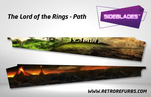 Lord of The Rings Path Pinball SideBlades Inner Inside Art Pin Blades Stern