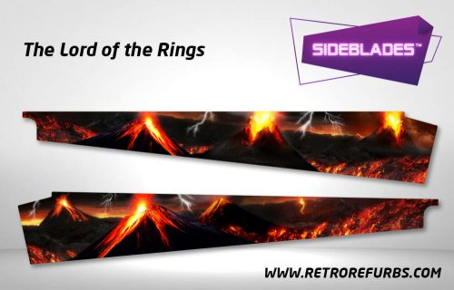 Lord of The Rings Pinball SideBlades Inner Inside Art Pin Blades Stern