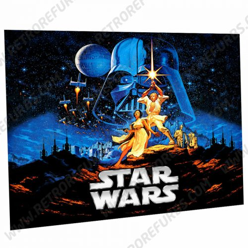 Star Wars Data East Alternate Pinball Translite Alternative Flipper Backglass Dark Side