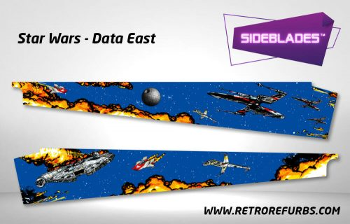 Star Wars Pinball SideBlades Inner Inside Art Pin Blades Data East