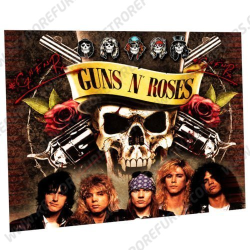 Guns N Roses Alternate Pinball Translite Alternative Flipper Backglass Data East