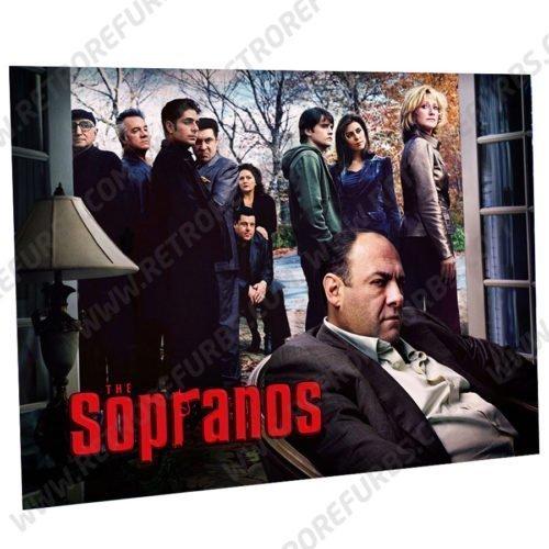 The Sopranos Tony Alternate Pinball Translite Alternative Flipper Backglass