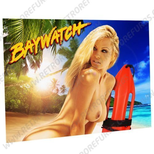 Baywatch Pam Alternate Pinball Translite Alternative Flipper Backglass