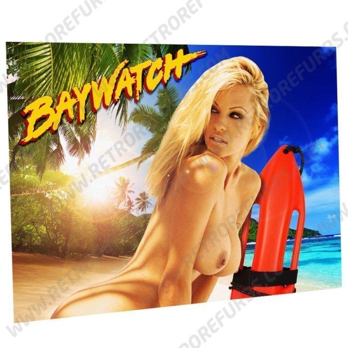 Baywatch Pam Alternate Pinball Translite Alternative Flipper Backglass