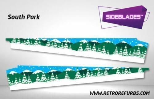 South Park Pinball SideBlades Inner Inside Art Pin Blades Sega