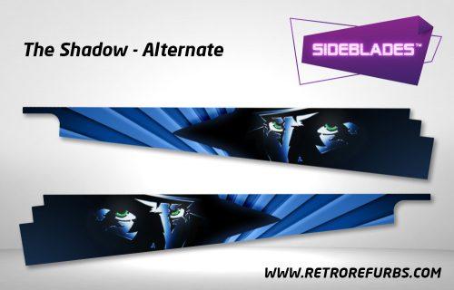 The Shadow Alternate Pinball SideBlades Inside Decals Sideboard Art Pin Blades