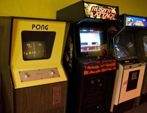 Arcade of Hall of Fame: Pong