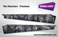 The Munsters Premium Pinball SideBlades Inside Decals Sideboard Art Pin Blades