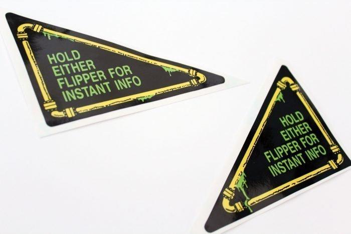 Teenage Mutant Ninja Turtles Pinball Flipper Apron Decals Stickers 03
