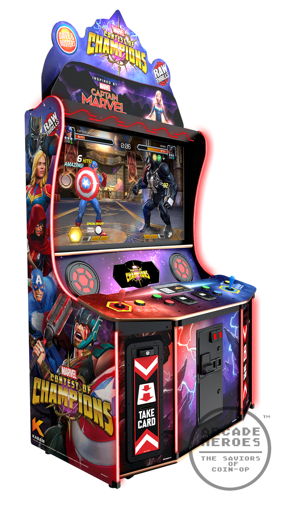 Dave Amp Busters Officially Unveils Marvel Contest Of