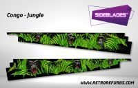 Congo Jungle Sideblades Inside Inner Art Decals Sideboard Art Pin Blades