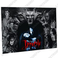 Bram Stokers Dracula Stone Arch Alternate Pinball Translite Alternative Flipper Backglass