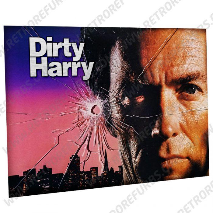 Dirty Harry Eastwood Alternate Pinball Translite Alternative Flipper Backglass